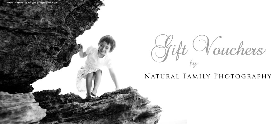 Melbourne Photography Gift Vouchers by Natural Family Photography